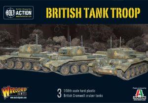 Warlord Games Bolt Action  Great Britain (BA) British Tank Troop (3x Cromwells) - WGB-START-16 - 5060393701101