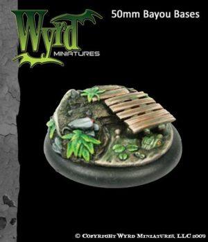 Wyrd   Bayou Bases Bayou 50mm bases - WYR0023 - 813856011454