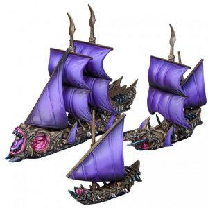 Mantic Kings of War Armada  Twilight Kin Twilight Kin Starter Fleet - MGARV101 - 5060469667225