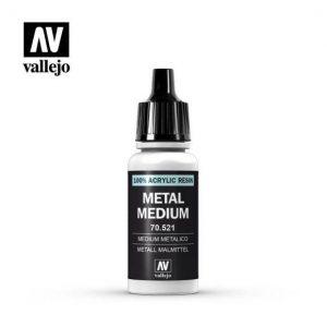 Vallejo   Vallejo Extras Vallejo Metal Medium - VAL521 - 8429551705219