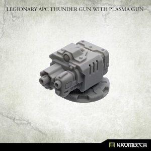 Kromlech   Legionary Conversion Parts Legionary APC Thunder Gun with Plasma Gun - KRVB077 - 5902216118959