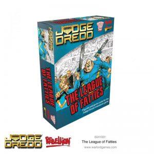 Warlord Games Judge Dredd  Judge Dredd Judge Dredd: The League of Fatties - 652410201 - 5060572503342