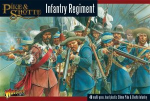 Warlord Games Pike & Shotte  SALE! Pike & Shotte Infantry Regiment - WGP-22 - 5060393701347