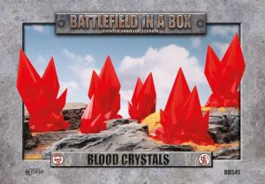 Gale Force Nine   Battlefield in a Box Battlefield in a Box: Blood Crystals (Red) - BB541 - 9420020218260