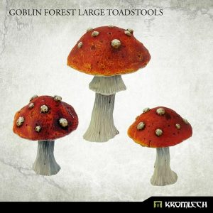 Kromlech   Misc / Weapons Conversion Parts Goblin Forest Large Toadstools (3) - KRBK037 - 5902216118577