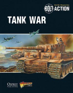 Warlord Games Bolt Action  Bolt Action Books & Accessories Tank War - Bolt Action supplement - 409910026 - 9781472807373