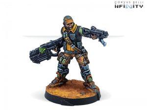 Corvus Belli Infinity  Non-Aligned Armies - NA2 Monstruckers (Submachine Gun) - 280749-0850 - 2807490008503