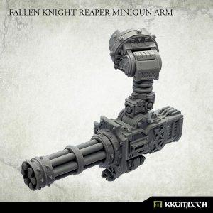 Kromlech   Heretic Legionary Conversion Parts Fallen Knight Reaper Minigun Arm - KRVB082 - 5902216119215