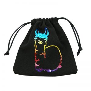 Q-Workshop   Dice Accessories Fabulous Llama Dice Bag - BLLA101 - 5907699495887