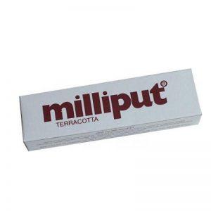 Gamescraft   Modelling Putty & Green Stuff Milliput Terracotta (1) - MILTER - 5035167000513