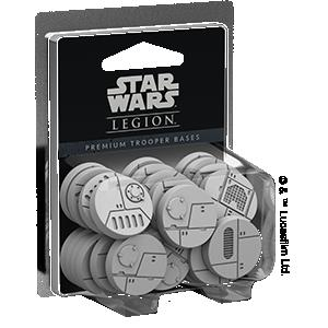 Fantasy Flight Games Star Wars: Legion  Star Wars Legion Extras Star Wars Legion: Premium Trooper Bases - FFGSWL28 - 841333106553