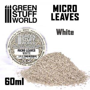 Green Stuff World   Lichen & Foliage Micro Leaves - White mix - 8435646501109ES - 8435646501109