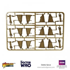 Warlord Games (Direct) Doctor Who  Doctor Who Doctor Who: Daleks Sprue - 6030000001 - 6030000001