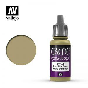 Vallejo   Extra Opaque Extra Opaque: Heavy Warm Grey - VAL72148 - 8429551721486