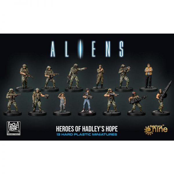 Gale Force Nine Aliens: Another Glorious Day In The Corps  Aliens: Another Glorious Day In The Corps Aliens: Heroes of Hadley's Hope - ALIENS05 - 9420020252417