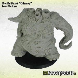Kromlech   Heretic Legionary Model Kits Morbid Beast Chimney - KRM078 - 5902216113275