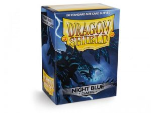 Dragon Shield   Dragon Shield Dragon Shield Sleeves Classic Night Blue (100) - DS100NB - 5706569100421