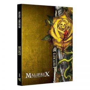 Wyrd Malifaux  Outcasts Outcast Faction Book - M3e Malifaux 3rd Edition - WYR23016 - 9781733162753