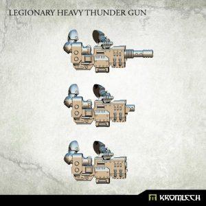 Kromlech   Legionary Conversion Parts Legionary Heavy Thunder Gun (3) - KRCB164 - 5902216113701