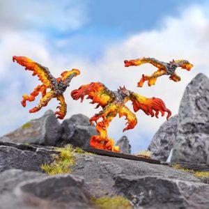 Mantic Kings of War  Salamanders (KoW) Scorchwing Regiment - MGKWS305 - 5060469667126