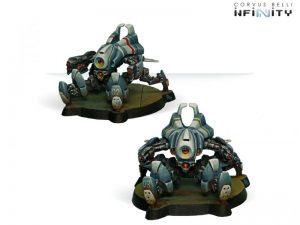 Corvus Belli Infinity  PanOceania Armbots Bulleteer (Spitfire, Heavy Shotgun) - 280234-0195 - 2802340001956
