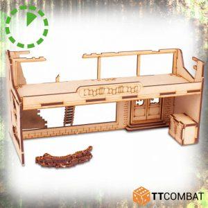 TTCombat   World War Scenics Warehouse Entrance - TTSCW-WAR-061 - 5060570137891