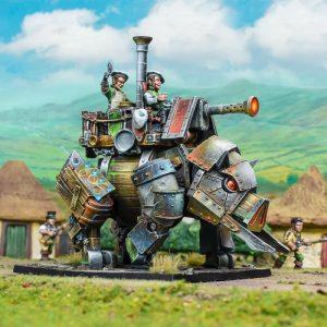 Mantic Kings of War  Halflings Halfling Iron Beast - MGKWHF401 - 5060469667300