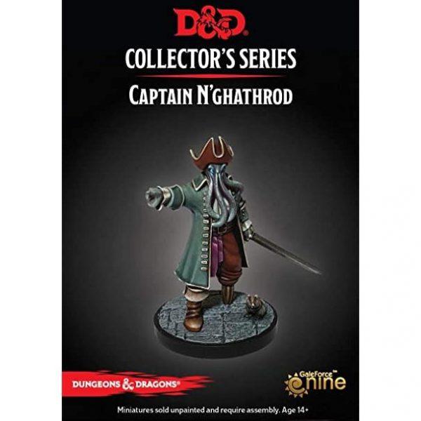 Gale Force Nine Dungeons & Dragons  D&D Miniatures D&D: Captain N'ghathrod - GFN71088 - 9420020245372