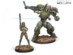 Corvus Belli Infinity  Non-Aligned Armies - NA2 Anaconda, Mercenary TAG Squadron - 280711-0425 - 2807110004250