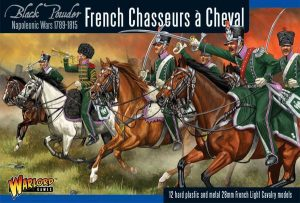 Warlord Games Black Powder  French (Napoleonic) French Chasseurs a Cheval Light Cavalry - WGN-FR-12 - 5060393701927