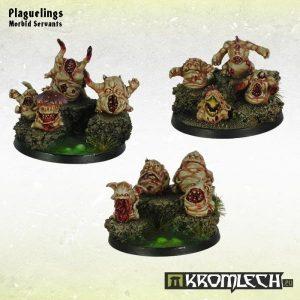 Kromlech   Heretic Legionary Model Kits Plaguelings (12) - KRM074 - 5902216113046