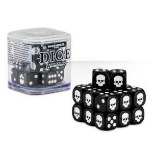 Games Workshop (Direct)   D6 Citadel Dice Cube - Black - 99229999152 - 5011921068203Blk