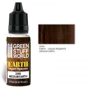 Green Stuff World   Liquid Pigments Liquid Pigments MEDIUM EARTH - 8436574506549ES - 8436574506549