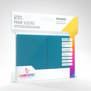 Gamegenic   SALE! Gamegenic Prime Sleeves Blue (100 pack) - GGS11016ML - 4251715402153