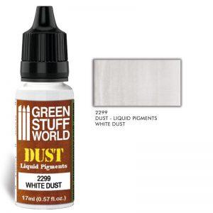 Green Stuff World   Liquid Pigments Liquid Pigments WHITE DUST - 8436574506587ES - 8436574506587