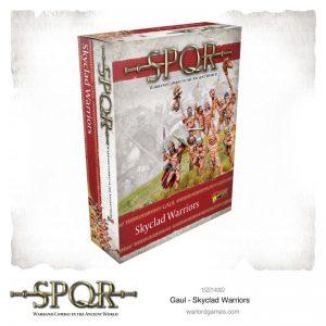 Warlord Games SPQR  SPQR SPQR: Gaul Skyclad Warriors - 152214002 - 5060572504486