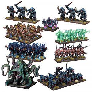 Mantic Kings of War  Nightstalkers Nightstalker Mega Army - MGKWNS102 - 5060469664088