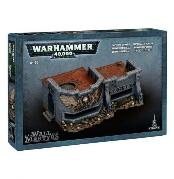 Games Workshop (Direct) Warhammer 40,000  40k Terrain Wall of Martyrs - Imperial Bunker - 99120199028 - 5011921041275