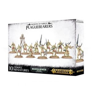 Games Workshop Warhammer 40,000 | Age of Sigmar  Chaos Daemons Plaguebearers of Nurgle - 99129915039 - 5011921085538