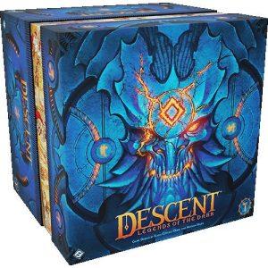 Fantasy Flight Games Descent: Legends of the Dark  Descent: Legends of the Dark Descent: Legends of the Dark - FFGDLE01 - 841333112202