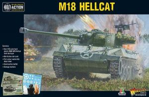 Warlord Games Bolt Action  United States of America (BA) US M18 Hellcat tank destroyer - 402013004 - 5060393704775