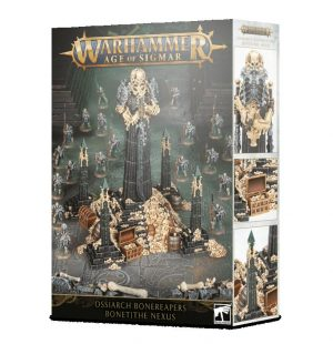 Games Workshop (Direct) Age of Sigmar  Ossiarch Bonereapers Ossiarch Bonereapers Bone-tithe Nexus - 99120207083 - 5011921129232