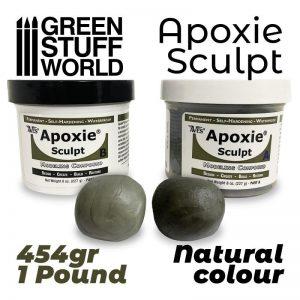 Green Stuff World   Modelling Putty & Green Stuff APOXIE SCULPT 1Lb Natural - 8435646502403ES - 762642013021