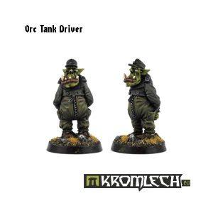 Kromlech   Orc Model Kits Orc Tank Driver (1) - KRM011 - 5902216111363