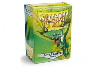 Dragon Shield   Dragon Shield Dragon Shield Sleeves Apple Green (100) - DS100MAG - 5706569110185
