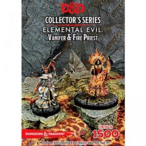 Gale Force Nine Dungeons & Dragons  D&D Miniatures D&D: Princes of the Apocalypse, Vanifer & Fire Priest - GFN71037 - 9420020226937
