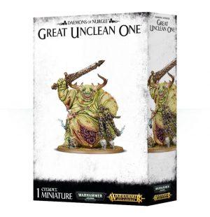 Games Workshop Warhammer 40,000 | Age of Sigmar  Maggotkin of Nurgle Great Unclean One - 99129915045 - 5011921092482
