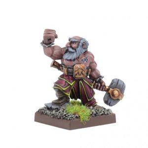 Mantic Kings of War  Dwarf Armies Dwarf Stone Priest - MGKWD201 - 5060469660394