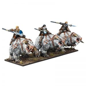 Mantic Kings of War  Northern Alliance Northern Alliance Frost Fang Cavalry Regiment - MGKWL404 - 5060469664804