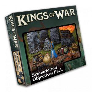 Mantic Kings of War  Kings of War Essentials Kings of War Scenario and Objective Set - MGKW218 - 5060469664651